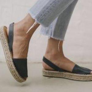 Revolve | alohas Ibizas leather espadrille sandals